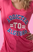"T-Shirt ""Addicted To Algebra"""